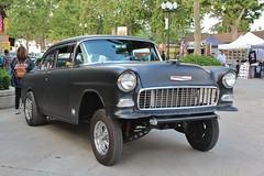 4th Annual Street Machine & Muscle Car Nationals (USautos98) Tags: 1955 chevrolet chevy 210 gasser hotrod streetrod custom nostalgiadragracing