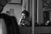 Evgeny (mariavanverdan) Tags: reflection man mirrow portrait bw