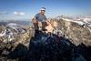 Kodak moment on Mount Gibbs (johnwporter) Tags: hiking scramble snowshoe climbing rockclimbing mountaineering cascades northcascades mountains wilderness lakechelansawtoothwilderness louispeak mtgibbs mountgibbs bapeak 徒步 爬行 雪鞋行 爬山 攀岩 登山 喀斯喀特山脈 北喀斯喀特山脈 山 荒野 奇蘭湖鋸齒荒野 路易斯峯 吉布斯山 巴峯 yellowlab labrador 黃拉不拉多 拉布拉多 t200