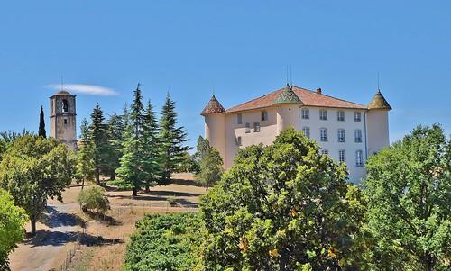 Chateau d' Aiguines, haut Var