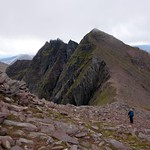 On the col between An Teallach's two Munros thumbnail