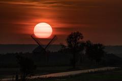 Aulakowszczyzna (1 of 1) (Stach_Trach) Tags: aulakowszczyzna korycin sokólszczyzna podlasie zachód słońca sunset windmill wiatrak