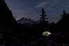 Mt Rainier Twilight (explorer_ron) Tags: backpacing backpack clifflake hike hiking mountrainier mtrainier offtrail pinnaclepeaktrail plummerpeak tatoosh