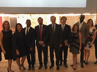 The corporate host committee at the 10th annual PAMM corporate luncheon