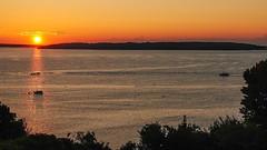 shine your light on me (paul noble photography) Tags: newengland nikon northeast atlanticocean eastcoast earlymorning sunrise goldenhour maine interestingness interesting sunrays sailboats morning