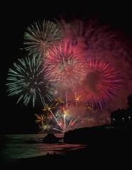 Feu d'artifice à Sion sur l'Océan (françoisjoly85) Tags: feudartifice feu firework fireworks fire vendée sion sainthilairederiez pentaxart
