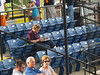Another Scorer at Burlington Athletic Stadium -- Burlington, NC, August 13, 2017 (baseballoogie) Tags: 081317 baseball baseball17 baseballpark ballpark stadium canonpowershotsx30is burlingtonathleticstadium burlingtonroyals appalachianleague rookie milb burlington northcarolina nc