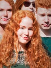 Redhead Days 2017 -1- (Jan 1147) Tags: redheaddays2017 red rood roodharigen redhead portret portrait breda nederland thenetherlands event evenement roodharigendag outdoor buitenopname smile glimlach