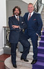 Laurence Llewelyn Bowen and Neville Knott pictured as TV3 unveiled its programming plans for Autumn 2017 at The National Concert Hall, Dublin. Pictures: Brian McEvoy