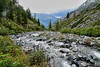 Река Текелюшка  y Кедровых Стоянок (Tatters ✾) Tags: altai russia photobytatianagerus geotag gps river creek oloneo