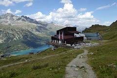 Bergstation Furtschellas (Alfesto) Tags: wanderung schweiz switzerland oberengadin engadin furtschellas wasserweg 6lejins graubünden kantongraubünden sils silsmaria lejdasilvaplauna silvaplanersee