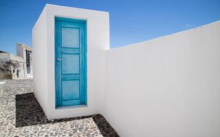 Entrance Door To Happiness