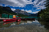 Emerald Lake (Jim Nix / Nomadic Pursuits) Tags: aurorahdr2018 bc banff british canada canadianrockies emeraldlake hdr jimnix lakelouise lightroom luminar macphun morainelake nomadicpursuits sony sonya7ii canoedock canoes clouds field highdynamicrange lake landscape mountains reflection travel
