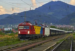 91 53 0 473 004-6 RO-SNTFC with Venice Simplon Orient Express