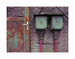 rust and decay (ha*voc) Tags: mamiya645super 45mm slr film fujinps160 220 mediumformat 645 hembrug zaandam industrialdecay urban urbanentropy rusty