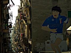 Maradona y Nápoles (portalealba) Tags: nápoles italia portalealba pentax pentaxk50