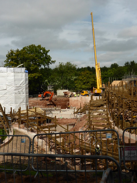 SW8 Construction Site - 29th August 2017