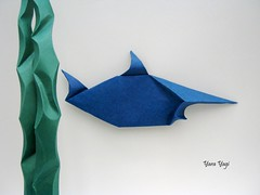 Another one (Yara Yagi) Tags: origami paper papel peixe fish