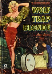 Quarter Books 38 - Luther Gordon - Wolf-Trap Blonde (swallace99) Tags: vintage 40s romance mailorderbrides digest paperback georgegross alfredlquandt