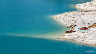Sibillini - lago di Fiastra
