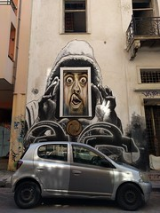 Street art in Exarchia - Athens, Greece (ashabot) Tags: greece streetscenes street streetart graffiti exarchia