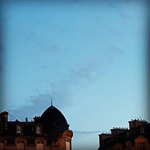 272/365 #365DaysChallenge Matin bleu