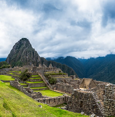 The Amazing Machu Picchu!! (shreya59) Tags: machupicchu peru incaruins ruins southamerica inca beauty nature cusco aguascalientes incatrail hiking green landscape