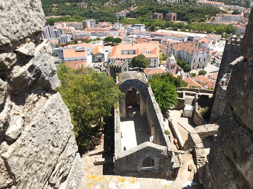 Iglesia de Santa Maria da Pena - Vista desde la torre del castillo