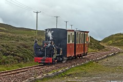 Locomotive No.9 (now known as Jack) visiting the Leadhills and Wanlockhead Railway on 27th July 2017. (penlea1954) Tags: locomotive no9 jack leadhills wanlockhead railway edinburgh leith gas commissioners andrew barclay designed steam engine no 1871 fleet scotland preserved narrow gauge