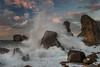 Mar de fondo (Marce Alvarez.) Tags: losurros costaquebrada cantabria cantabrico liencres paisaje marcealvarez mar locuos nikon landscape