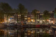 de Brouwersgracht Amsterdam op 26 Augustus