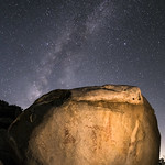 Milky Way and Pictographs in the Anza-Borrego Desert thumbnail
