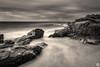 Sweeper (John_Armytage) Tags: shoalbay boxbeach johnarmytage landscape bw blackwhite mono monochrome sonya7r2 sony1635 seascape rock longexposure nisifilters sonyalpha