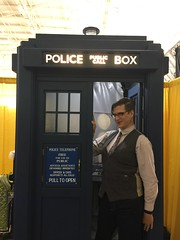 The Doctor is In (Vera Wylde) Tags: comic con comiccon boston 2017 geek genderfluir crossdressing crossdresser crossdress cross dress dresser dressing glasses tie dapper vest transgirl transvestite tgirl tardis doctorwho