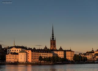 Riddarfjarden sunset - Stockholm {Explore]