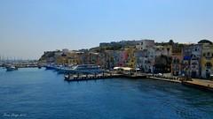 Il porto di Marina Grande #4 (FIORE Luigi) Tags: procida porto panorama landscape napoli campania italia barche sky sea ship architettura colori colours