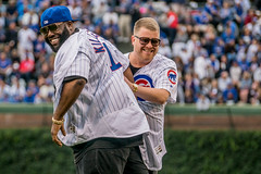 Killer Mike & El-P, Run The Jewels (Joshua Mellin) Tags: elp killermike mikerender runthejewels rtj chicagocubs chicago cubs wrigleyfield wrigley field lolla lollapalooza 2017 summer jersey hat rappers music chicagocubsbaseball mlb baseball firstpitch artist musician ceremonialfirstpitch rap rapper hiphop best worst northside joshuamellin photographer forsale license forlicense photography pics pictures images ads photos iconic original rare unique