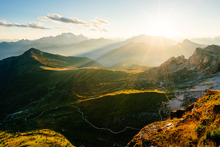 Dolomite Sunset