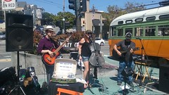 (sftrajan) Tags: transport 2017 sanfrancisco dirtycello music concert 94114 thecastro streetcar muni tram hsc