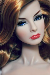 Tag Game: Doll with blue eyes (Bogostick) Tags: dollportrait agnes fashionroyalty feminineperspective