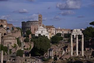 antica Roma che non vive tramonti