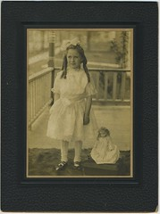 1909 or so - Thelma [Yenna] Flora w doll