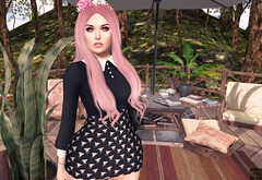 Pink Hair For A Blue Girl (Cryssie Carver) Tags: secondlife second life sl whimsical 4mesh ultra poppy vilecult alaskametro limerence league suicidalunborn suicidal unborn catwa maitreya anlarposes an lar poses 22769