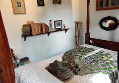 frida-bedroom (quirkytravelguy) Tags: frida kahlo museum mexico city coyoacan
