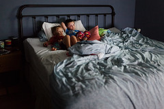 225/365 (beck-chan) Tags: bed sunday morning brothers relaxation relax home lifestyle documentary 35mmlens siblings family