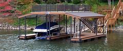 Upper Deck Shade Dock
