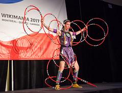 funcrunch-20170810-7495 (funcrunch) Tags: wikimania wikimedia wikipedia conference dance dancer montréal québec canada ca