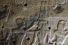 Seti I with Isis (konde) Tags: isis chapel templeofsetii setii 19thdynasty abydos newkingdom ancientegypt art goddess
