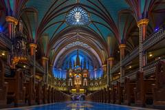 Basílica de Notre Dame (José M. Arboleda) Tags: arquitectura edificio iglesia basílica plaza notredame montreal canada eos markii josémarboledac ef24105mmf4lisusm canon 5d