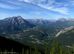 To have nothing the matter with you and no habits is pretty tame, pretty colorless. It is just the way a saint feels, I reckon.... (itucker, thanks for 3.3+ million views!) Tags: banff alberta landscape skyscape blue hbm sulphurmountain banffnationalpark